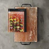 The Great Himalayan Salt Plate with Holder & Salt Plate Book