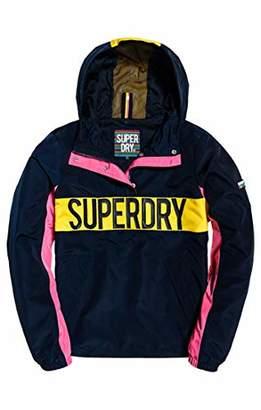 Superdry Women's Chroma Overhead Coat,Large (Size: )