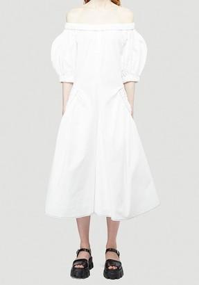 REJINA PYO Maggie Off Shoulder Midi Dress