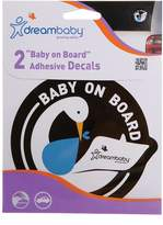Dream Baby Dreambaby Baby on Board Adhesive Stork