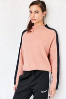 Silence & Noise Silence + Noise Johnny Mock Neck Sweater