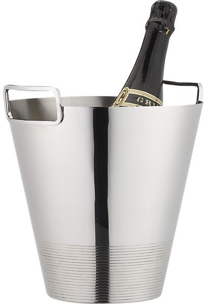 Crate & Barrel Gatsby Champagne Cooler.
