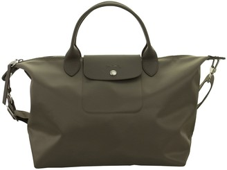 Longchamp Le Pliage Neo Top Handle Bag M Dark Green