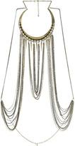 Arden B Rhinestone Chain Body Necklace