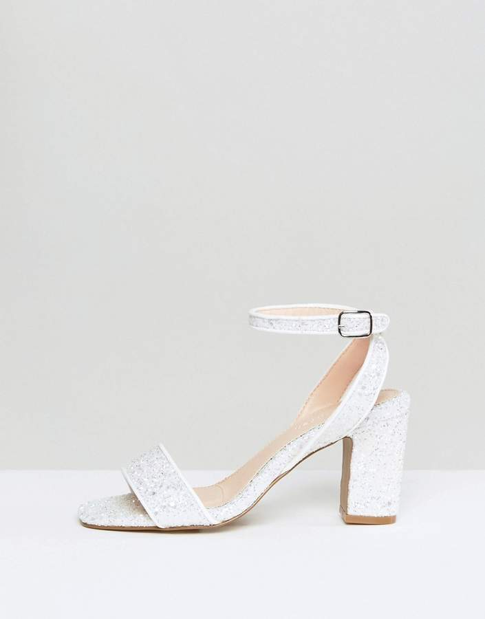 Coco Wren Bridal Mid Heel Sandal