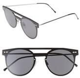 Spitfire Women's Prime Frameless Sunglasses - Silver/ Black