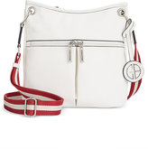 Giani Bernini Pebble Leather Crossbody, Only at Macy's