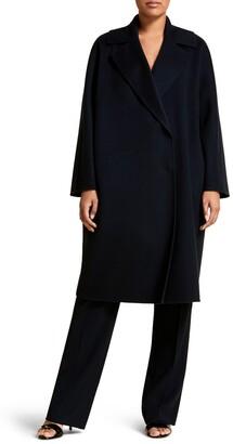 Marina Rinaldi Tabloidbis Double Breasted Wool Coat