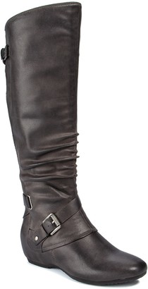 Bare Traps Pabla Concealed Wedge Tall Boot
