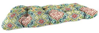 Bungalow Rose Outdoor Seat Cushion Fabric: Red/Navy/Green