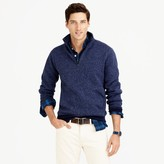 J.Crew Summit fleece half-zip sweatshirt in ultramarine