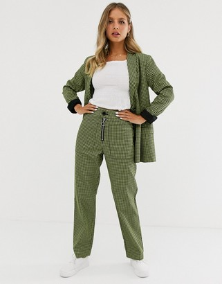 Capulet dylan double breasted check blazer