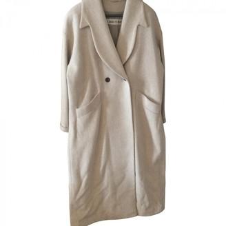 Cerruti Beige Wool Coat for Women Vintage