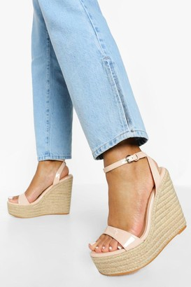 boohoo Barely There High Wedge