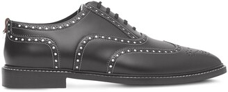 Burberry D-ring two-tone Oxford brogues