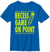Fifth Sun Boys' Tee Shirts ROYAL - Royal Blue 'Recess Game on Point' Tee - Boys