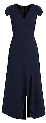 Roland Mouret Women's Kinglake Vented Crepe Wool Dress