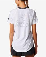 adidas V-Neck Logo T-Shirt