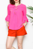 Jade Bell Sleeve Top