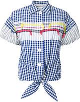 Tsumori Chisato checked shirt - women - Cotton - XS