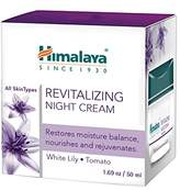 Himalaya Revitalizing Night Cream Restores and Rejuvenates, Alcohol-Free, 1.69 Ounce