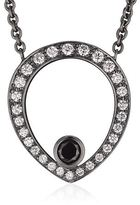 Theo Fennell Black Diamond Skull Necklace