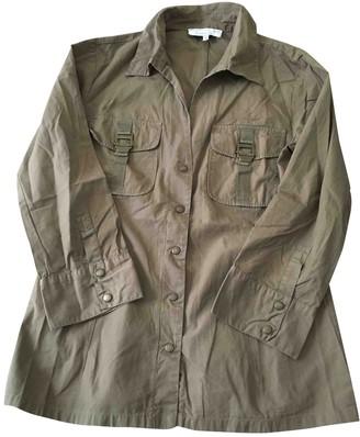 Gerard Darel Khaki Cotton Top for Women