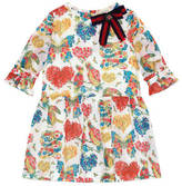 Gucci Children's Corsage print dress