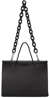 Medea Black Leather Chain Hanna Bag