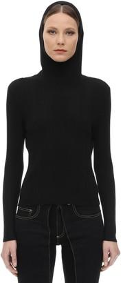 Aalto Fitted Knit Sweater W/balaclava