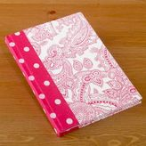 Pink Paisley and Polka Dot Journal