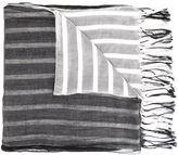 Yohji Yamamoto fringed scarf