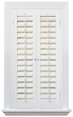 "Plantation Faux Wood Interior Shutter, 39-41"" W x 74"""