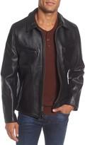 Schott NYC Slim Fit Leather Jacket