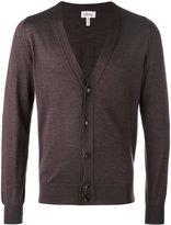 Brioni V-neck buttoned cardigan - men - Silk/Cashmere - 50