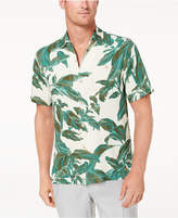 Tommy Bahama Men's Royal Botanical-Print Silk Shirt