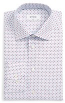 Eton Men's Slim Fit Floral Print Dress Shirt