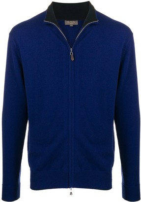 N.Peal The Knightsbridge zip-up cardigan