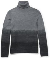 Michael Kors - Slim-fit Dégradé Wool Rollneck Sweater