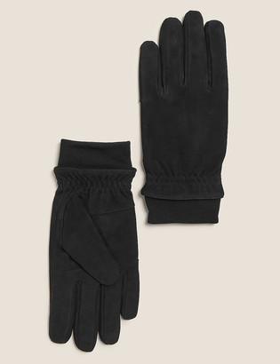 Marks and Spencer Nubuck Leather Gloves
