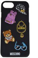 Moschino Sticker Detailed Iphone 7 Case