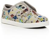 Toms Boys' Paseo Spaceship Print Low Top Sneakers - Toddler