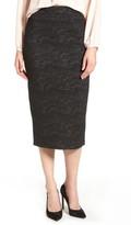 Halogen Women's Jacquard Pencil Skirt