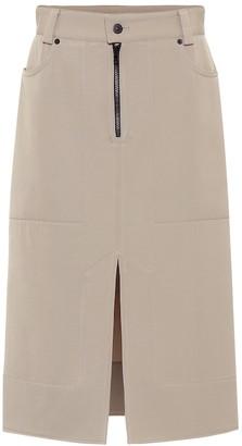 Kwaidan Editions Wool-twill skirt