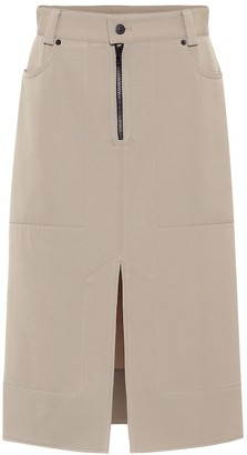 Kwaidan Editions Wool-twill skirt