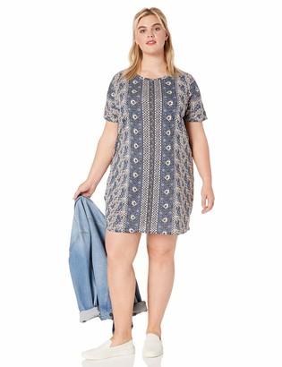 Lucky Brand Women's Plus Size The Summer TEE Dress