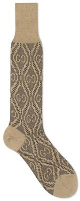 Gucci GG Argyle Knee-Length Socks