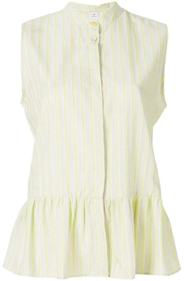 Paul Smith sleeveless stripe blouse