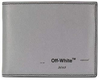 Off-White Off White seasonal logo bi-fold wallet