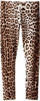 Roberto Cavalli Leopard Leggings (Big Kids)